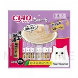 Ciao 【20本系列】化毛球吞拿魚海鮮MIX味 20 x 14g