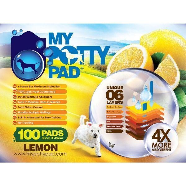 MY POTTY PAD六層尿片檸檬味買4送1