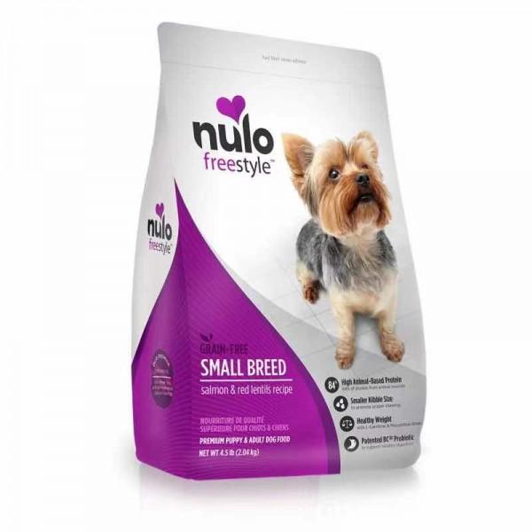 NULO – 三文魚、紅扁豆無穀物配方[小型幼犬及成犬] 4.5LBS