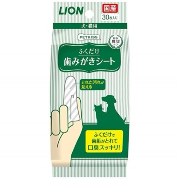 獅王 - LION日本獅王寵物貓犬潔齒布-(1包30片)