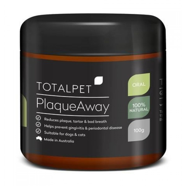 Totalpet Plaque Away Oral Care Powder柏維牙石粉 100g