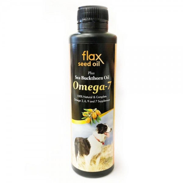 FourFlax – 金裝Omega 7 亞麻籽油+沙棘植物果油 250ML